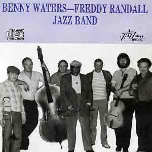 Mike with Benny Waters - Freddy Randell Jazz Band  rec 1982 London England
