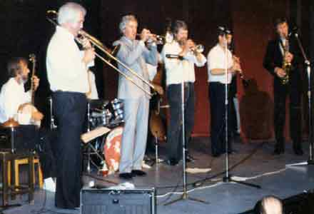 1986 Pat Halcox and John Crocker with the Invicta Jazz Band